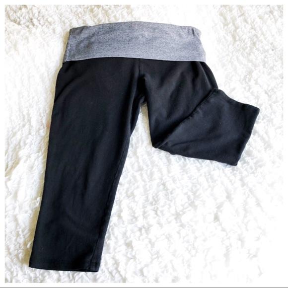 cebd0b828f Mossimo Supply Co. Pants | Fold Over Waist Crop Yoga | Poshmark